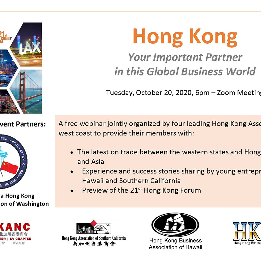 Hong Kong: Your Important Partner in this Global Business World