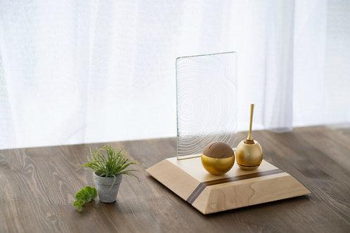 ねんりん -nenrin- (彫刻ガラス レギュラーサイズ)
