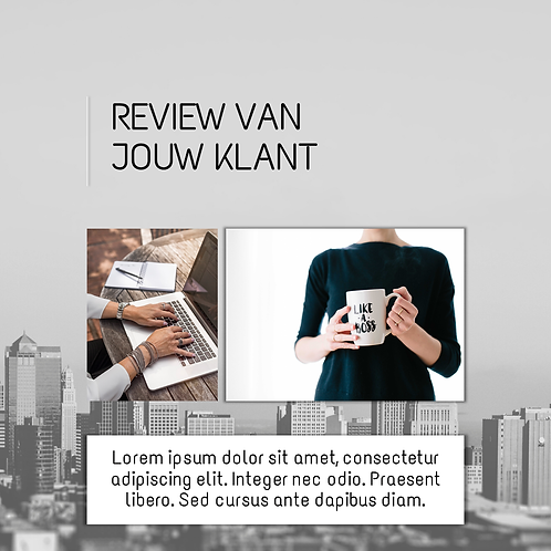 PowerPoint Template Review -2 foto's