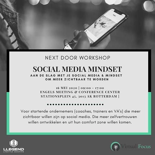 Workshop Social Media Mindset 16 mei 2020 (1 pers.)