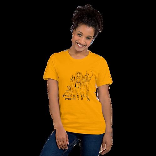"""SKATE LIFE"" Short-Sleeve Unisex T-Shirt"