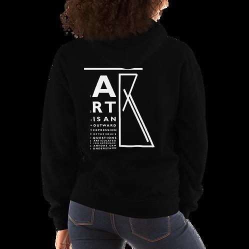 """""""ART is..."""" Unisex Hoodie"""