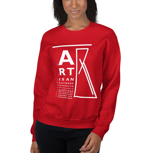 """ART is..."" Unisex Sweatshirt"