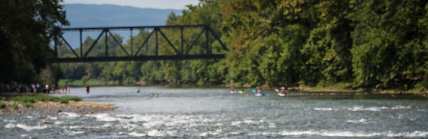 Kayak on the Shenandoah River by Joshua