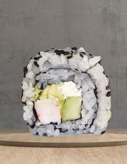Sushi de camarón no empanizado