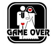 addio-celibato-nubilato-game-over-uomo-donna-sposi