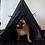 Thumbnail: Boho Black dog teepee