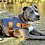 Thumbnail: Denim Dog Harness