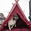 Thumbnail: Boho Bordo dog teepee