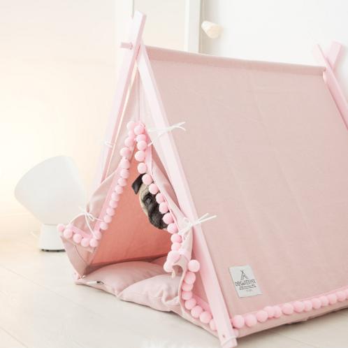 Boho Candy dog teepee tent