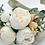 "Thumbnail: The ""Ranunculus and Peony"" dog flower wreath collar"