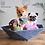 "Thumbnail: ""Atomo"" Petite dog bed"