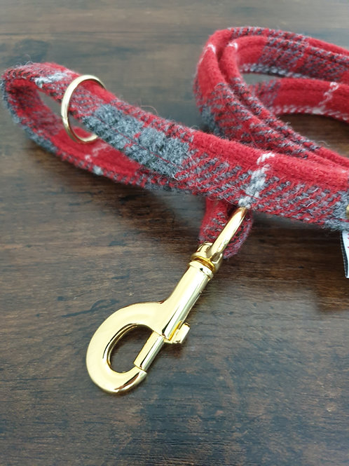 """Sammi"" Harris Tweed dog lead"