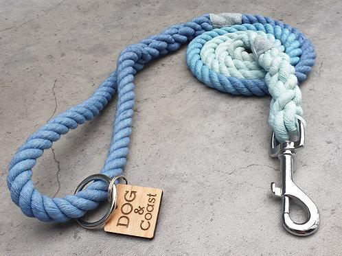 The Aqua Ombre Rope Lead