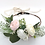 "Thumbnail: The ""Chantilly"" dog flower wreath collar"