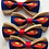 Thumbnail: Superman Dog Bow Tie