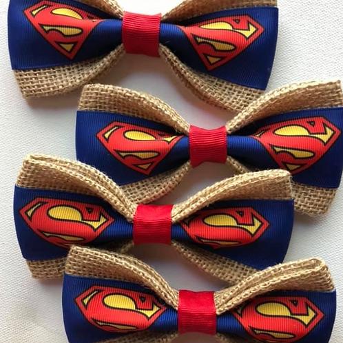 Superman Dog Bow Tie