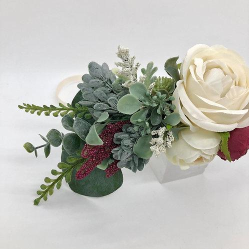 The Wine Flower Collar Wreath