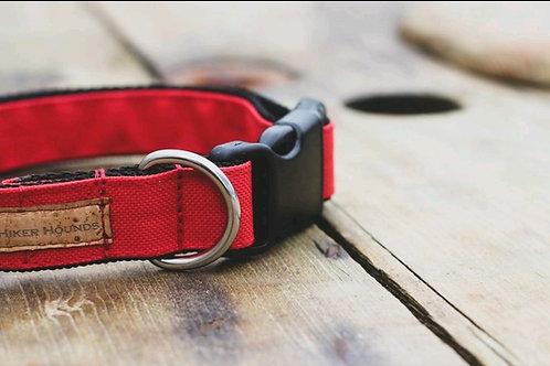 Chilli canvas collar
