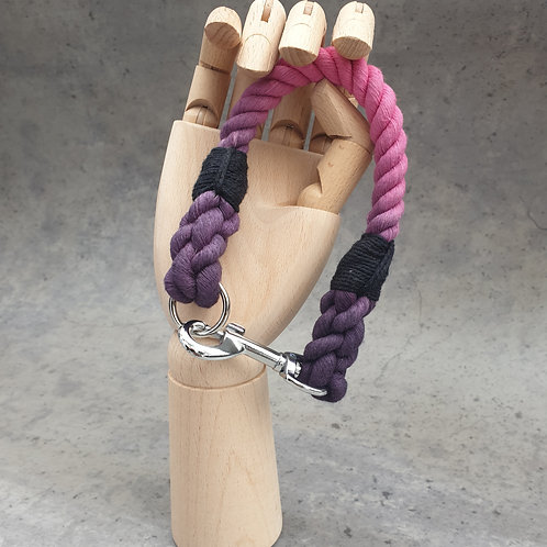 The Magenta Ombre Rope Collar