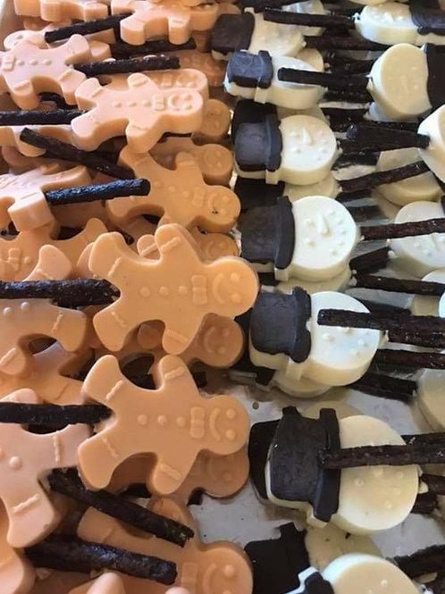 Festive Treat lollipops