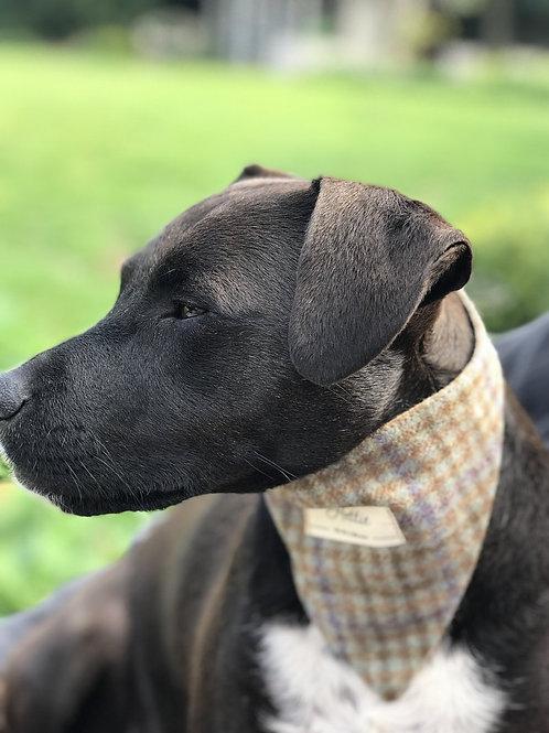 """Loch Heather"" dog bandana"