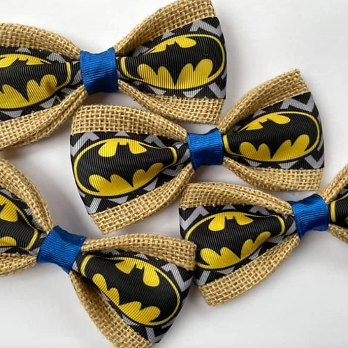 Batman Dog Bow Tie