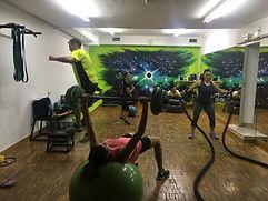 Circuito funcional entrenamientos Villalba