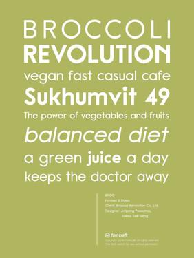 Broccoli Revolution Font Poster.jpg