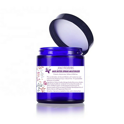 Hair Butter Spread,Daily moisturizer & Curl definer)with Shea/Mango/Kokum/Murumu