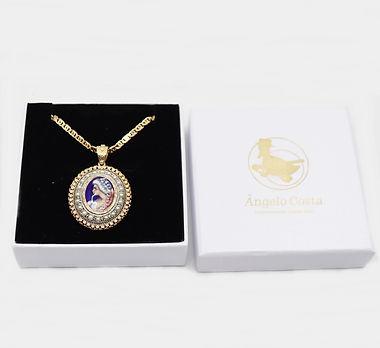 Medalha com desenho_Ref_171700_Ref_17172