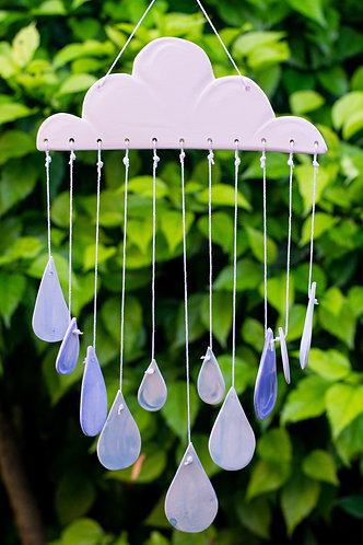 Raincloud Wind Chime