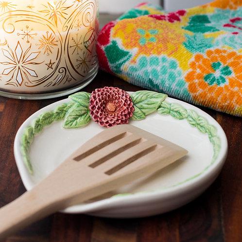 Chrysanthemum Spoon Rest