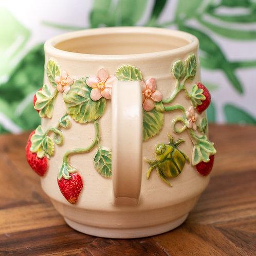 Strawberry Mug | Made-To-Order