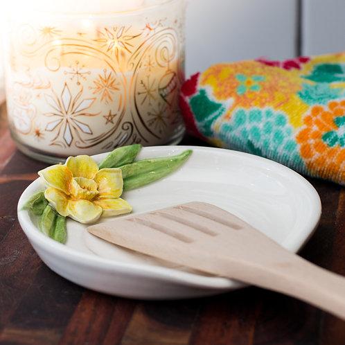 Daffodil Spoon Rest MTO