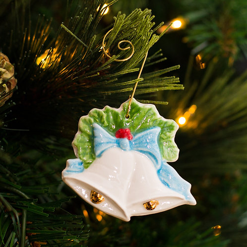 Full Color Holiday Bells Ornament