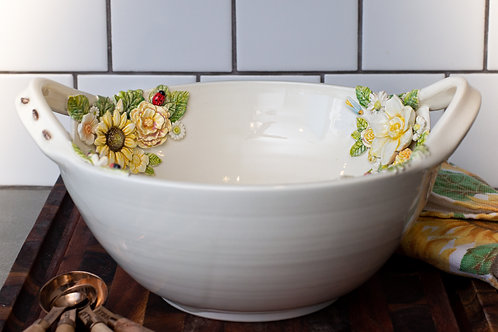 Serving Bowl | Flowers & Bugs