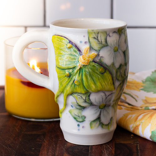 Luna & Dogwood Blossoms Mug