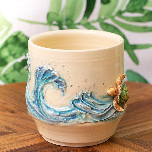 Turtle & Waves Mug
