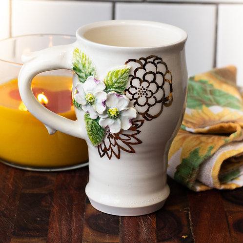Dogwood & Hooktip Moth Mug