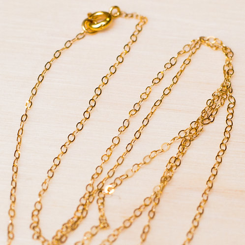 14kt Gold Necklace Chain