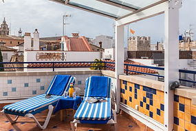 Sea View Sitges| sun terrace apartment Sitges| Sitges hotel view terrace