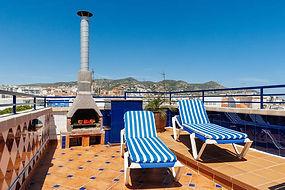 Sea View Sitges| penthouse Sitges terrace view| Sitges hotel view terrace| Sitges apartment view terrace| Sitges Barcelona terrace view