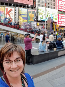 Jerry Capturing Street Views in NYC