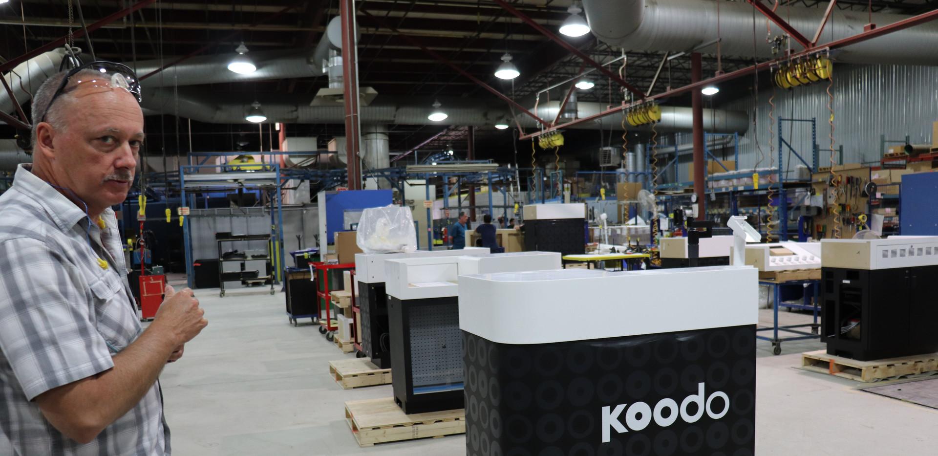 Kiosks Final Assembly