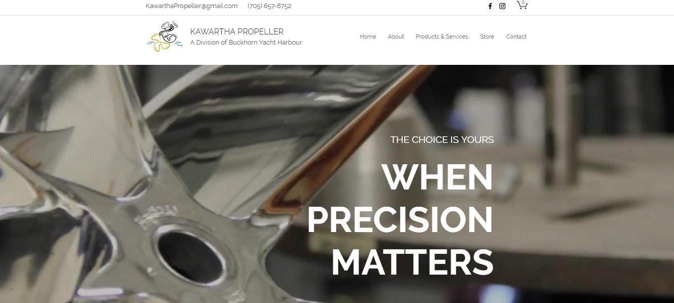 Kawartha Propeller Website