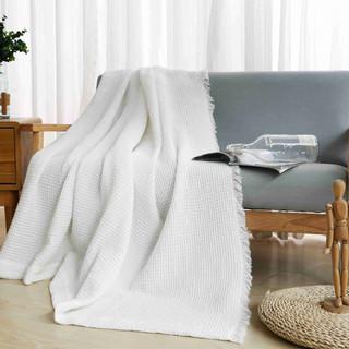 Waflle Blanket - white.JPG