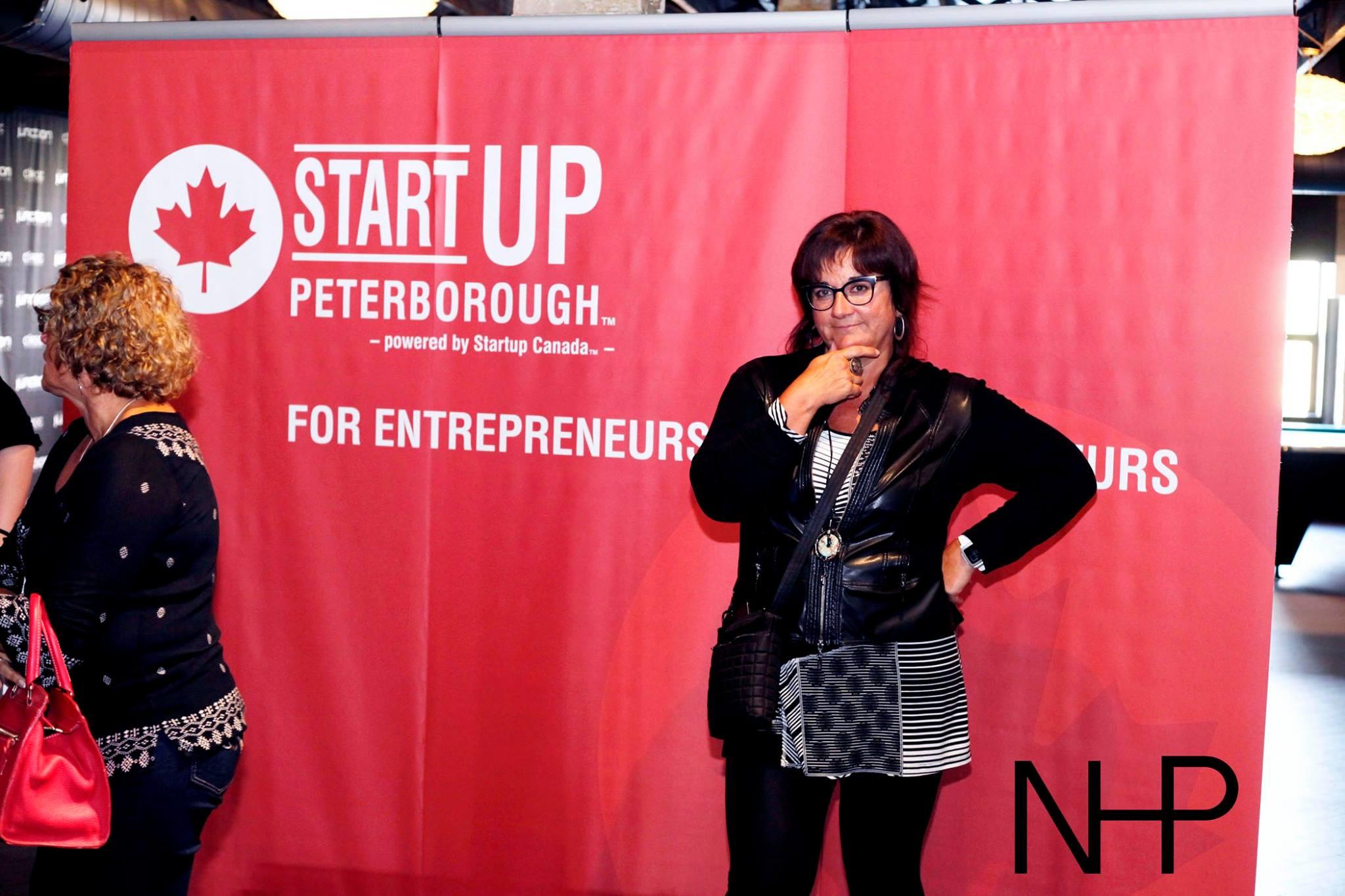 Sofie's a StartUpPtbo Founder