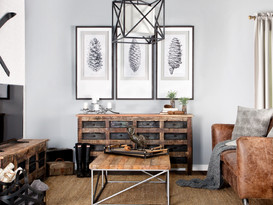 Wall art and sideboards