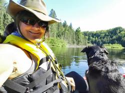 Sofie Kayaking
